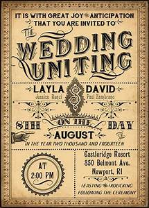 ophelia printable diy victorian steampunk wedding With free printable steampunk wedding invitations