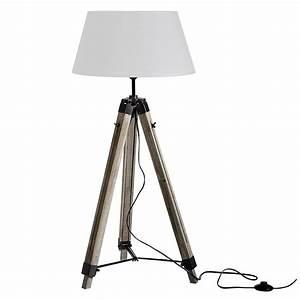Lampadaire Trepied Blanc : lampadaire tr pied navy blanc koya design ~ Teatrodelosmanantiales.com Idées de Décoration