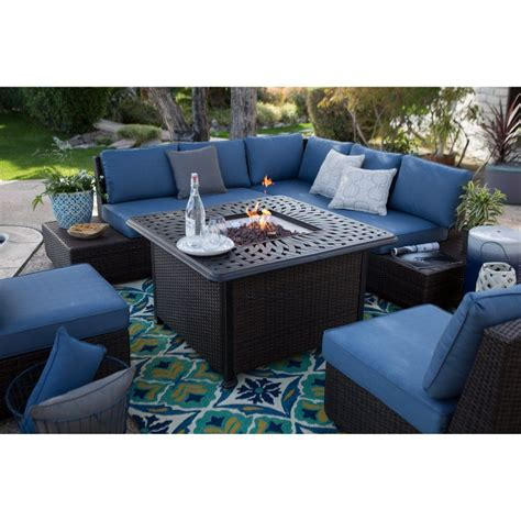 Cheap Patio Sofa Sets by Belham Living Luciana Bay Wicker Sofa Sectional Set With
