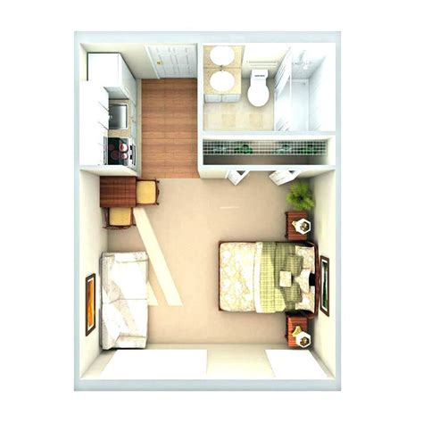One Bedroom Apartment Layout Ideas by Studio Apartment Floor Plan Namiswla