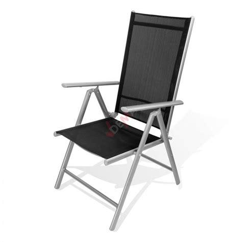 chaise pliante en aluminium chaise pliante en aluminium quot rimini quot plein air cing