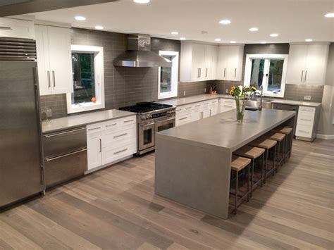 kitchen countertops island ny gray kitchen counters and island countertop contemporary 7902