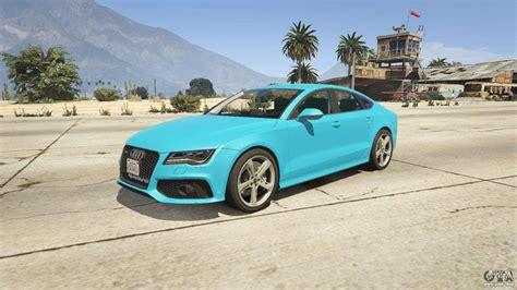 Audi Rs7 For Gta 5