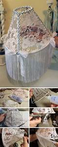 Shabby Chic Diy : best 10 shabby chic lamps ideas on pinterest flower lampshade flower lamp and shaby chic ~ Frokenaadalensverden.com Haus und Dekorationen