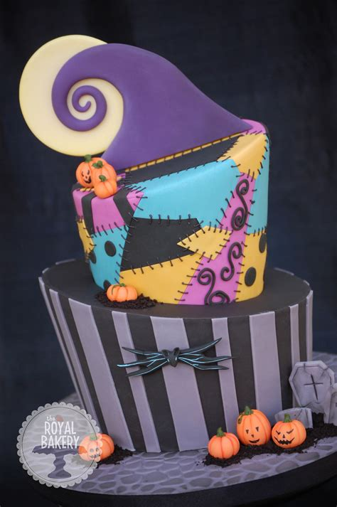 a nightmare before christmas birthday cake i was given