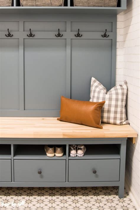 Living Spaces Storage Bench by Ikea Hemnes Hack Diy Mudroom Bench And Storage Living