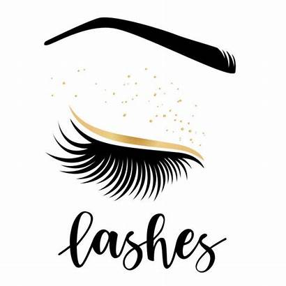 Lashes Vector Lash Brow Illustration Eye Eyelashes