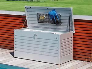 Biohort Freizeitbox 180 : biohort freizeitbox 180 silber metallic gartenh user ~ Watch28wear.com Haus und Dekorationen