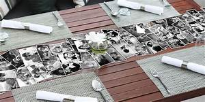 Easy Decorating Idea: DIY Photo Table Runner
