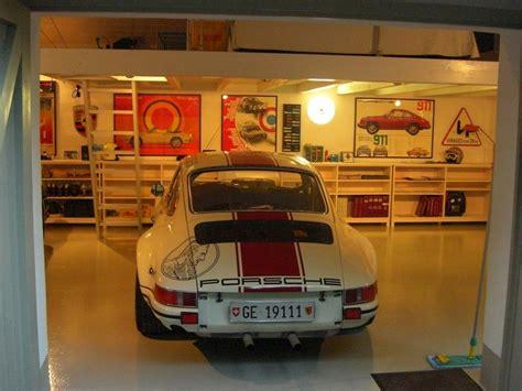 garage with lift the chicane masterful swiss porsche garage 1193