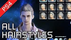 Final Fantasy XIV A Realm Reborn PS4 All Male