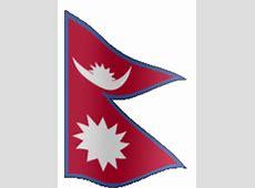 Animated Nepal flag Country flag of abFlagscom gif