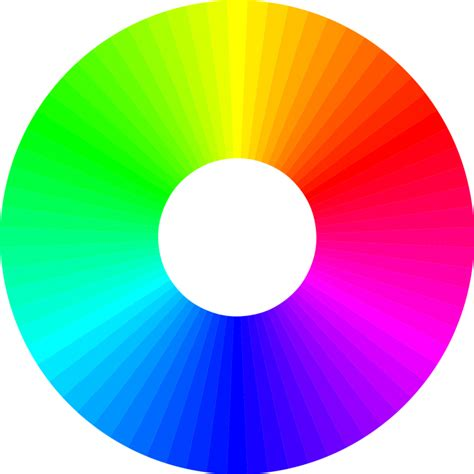 color wheel for decorating living room