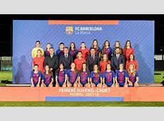 FC Barcelona – JuvenilCadet Femenino 20172018 FC