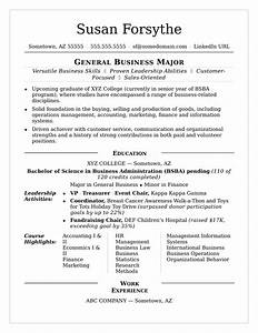 college resume sample monstercom With college student resume template