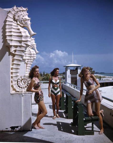 giant seahorses   bikinis lido beach lido beach