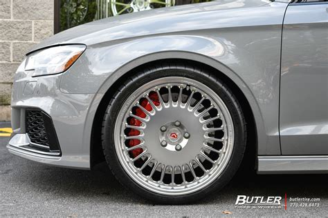 Audi Rs3 With 19in Vossen Ml-r1 Wheels Exclusively From