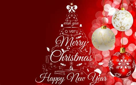 greeting card merry christmas  happy  year