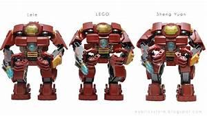 My Brick Store: Sheng Yuan SY357 Hulkbuster Iron Man