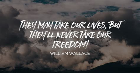 william wallace freedom quote visual quotes