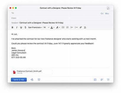 Mail Professional Write Examples Spark Agar Dibaca