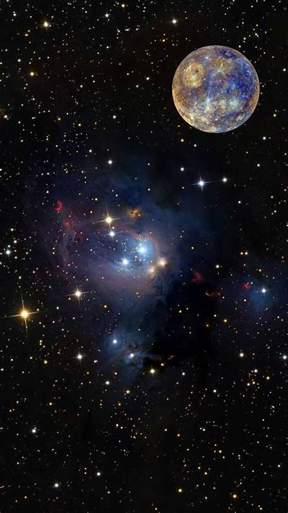 Galaxy Planets Space Wallpapers Mercury Phone Uploaded