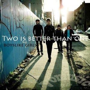 แปลเพลง Two Is Better Than One  Boys Like Girls
