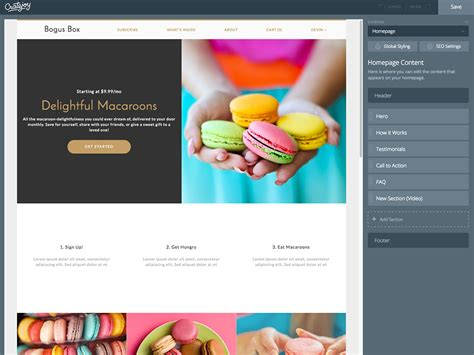 Home Based Web Design Work by How To Use Cratejoy S Subscription Box Website Builder