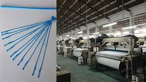 Tdhw Steel Heald Wire For Rapier Loom  Air Jet Loom Spare