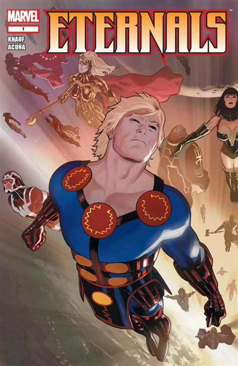 Marvel's 'The Eternals' Could Be the Weirdest Movie in the MCU