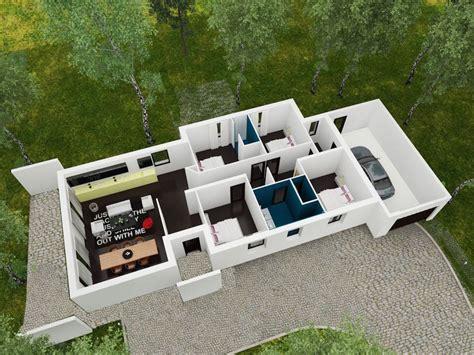 maison 3 chambres plain pied linea maison moderne plain pied