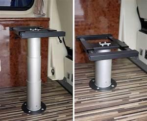 Pied De Table Telescopique : table reglable camping car ~ Dailycaller-alerts.com Idées de Décoration