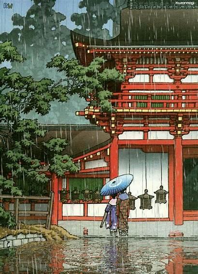 Japanese Rain Animation Animated Japan Gifs Tokyo