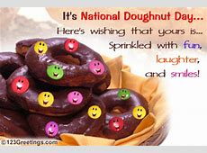 Fun, Laughter And Smiles! Free National Doughnut Day