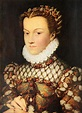 Elizabeth of Austria, Queen of France Painting by Jean Clouet