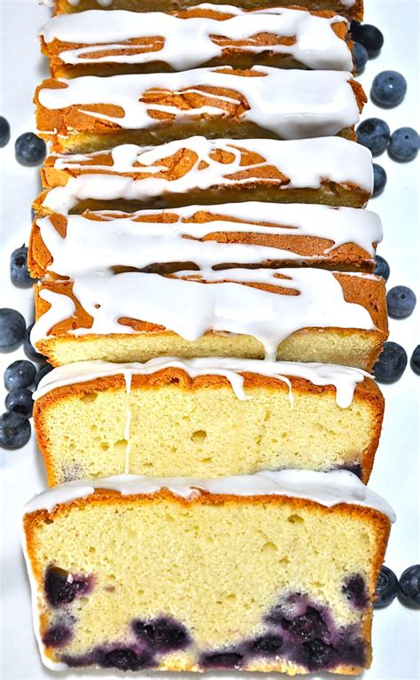 Blueberry Cream Cheese Pound Cake Brought You Ken
