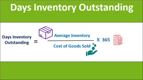 days inventory outstanding top  examples  excel
