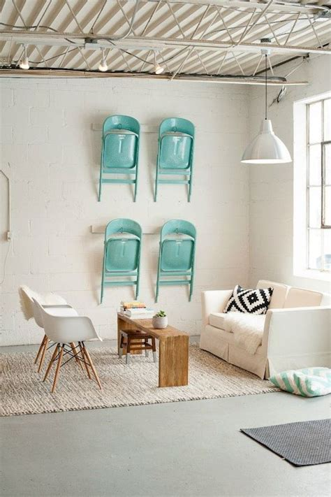 Hanging Folding Chairs On Wall by Charming Collections 11 Unusual Things To Hang On The