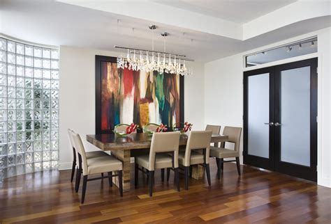 linear chandelier dining room kbdphoto