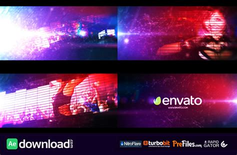 after effects templates free download intro video equalizer logo intro videohive project free download