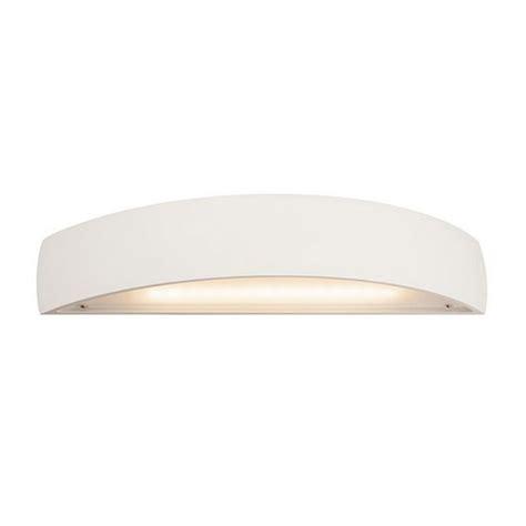 nl 148062 plastra led up curved white plaster wall light national lighting