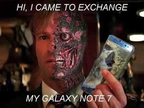 samsung phones blowing up here are 8 hilarious pictures that flooded social media