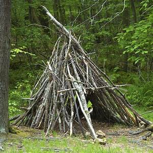 Primitive Survival Shelter