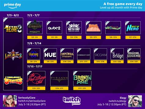 julys  pc games  youre  amazon twitch