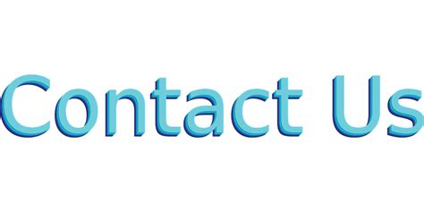 vector graphic contact  blue button style