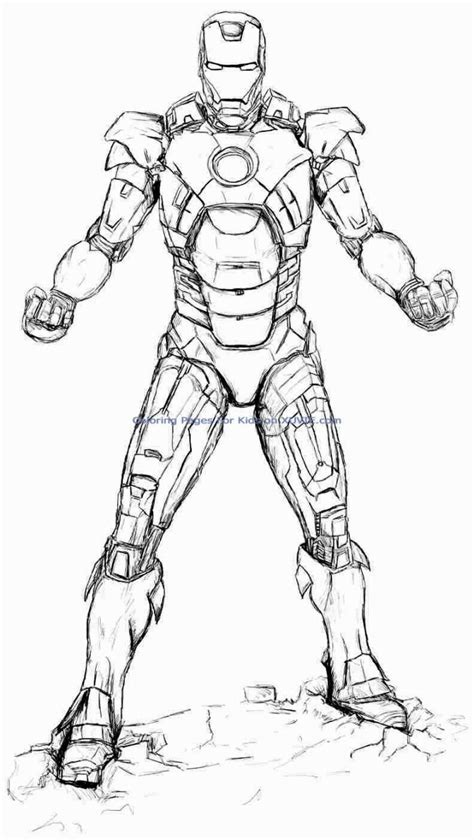 iron man coloring pages drawing poses in 2019 avengers
