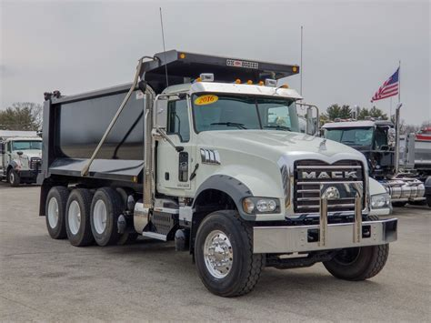 Dump Truck by Mack Dump Trucks Ready To Work Mcdevitt Trucks
