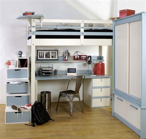 lit mezzanine ikea avec bureau lit mezzanine ado espace loggia