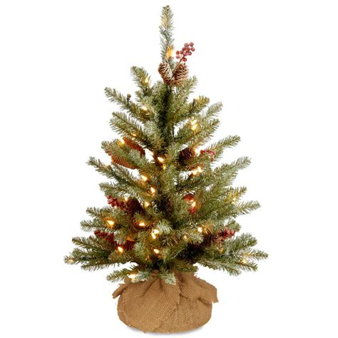 dunhill artificial tree corporation crab pot trees 5 ft indoor outdoor pre lit incandescent artificial tree with white