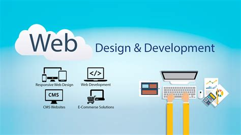 web design and development of a website development company in blooming